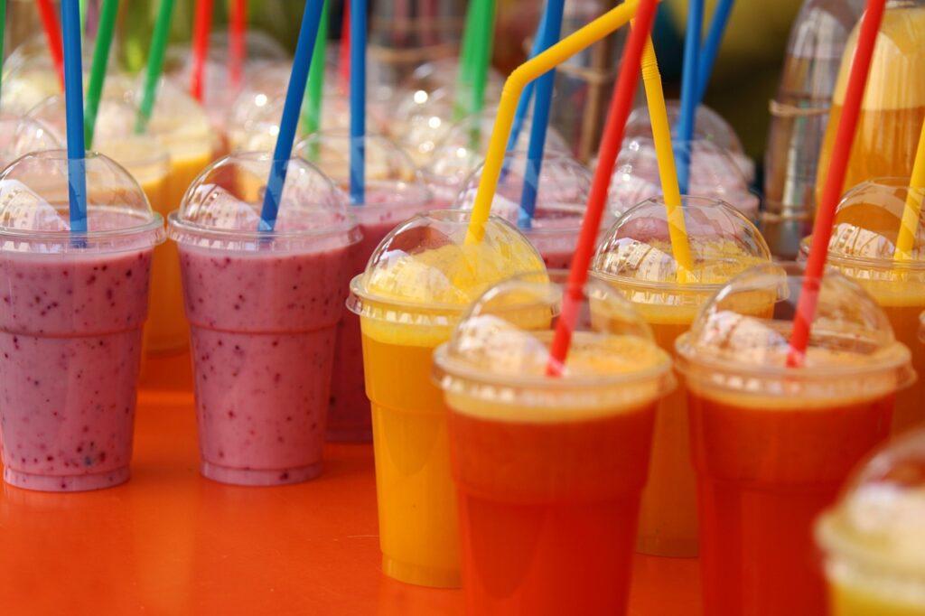 berries smoothies